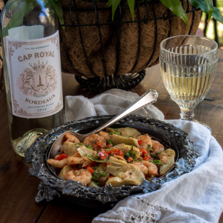 Shrimp and Artichokes