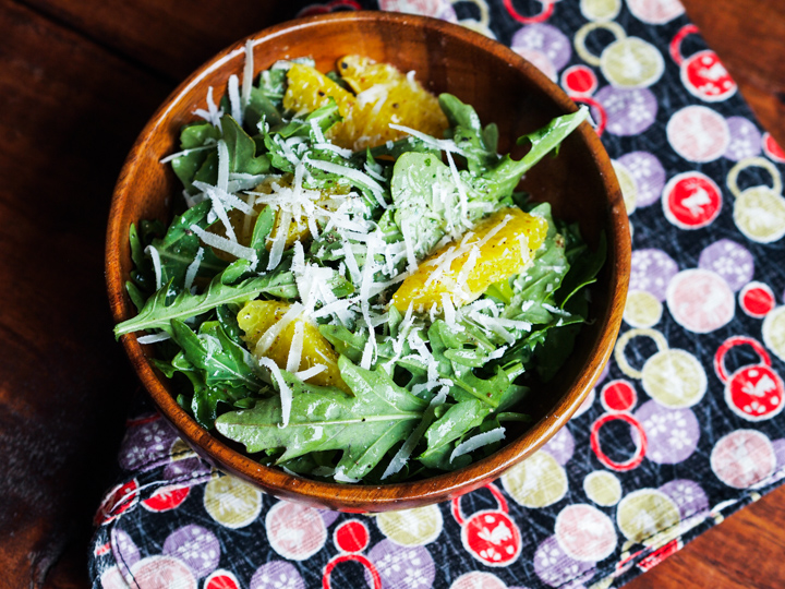Orange Arugula Salad