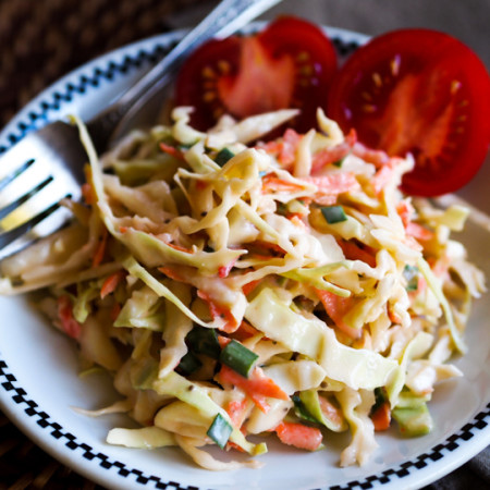 Coleslaw with Boiled Dressing