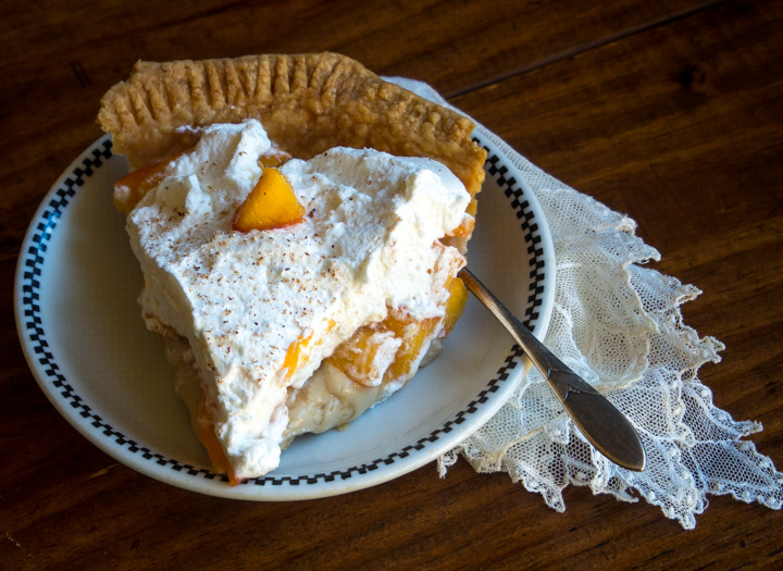Peaches & Cream Pie