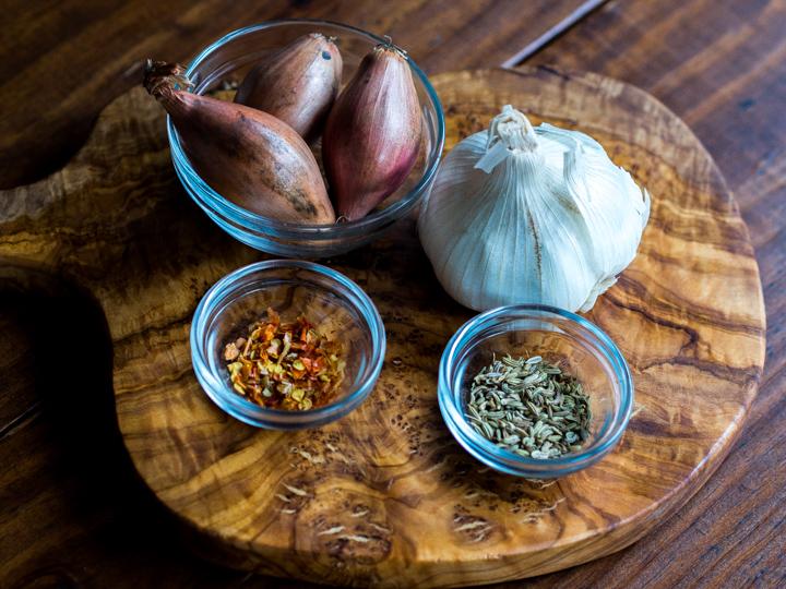 Eggplant & Andouille Pasta