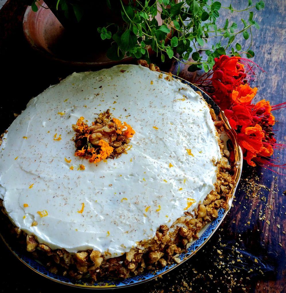 Carrot Pumpkin Cake